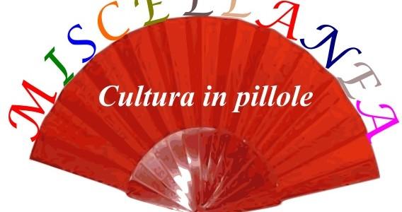"""Rassegna """"Miscellanea 2017-2017"""" Un occasione per incontrarci il lunedì pomeriggio dalle 14.30 alle 16 con gli autori del nostro panorama """"Cultura in pillole"""", ciclo di incontri per approfondire vari argomenti […]"""